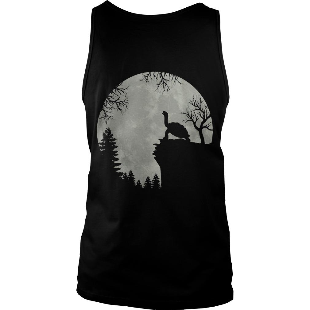 Moon Howling Turtle Tank Top