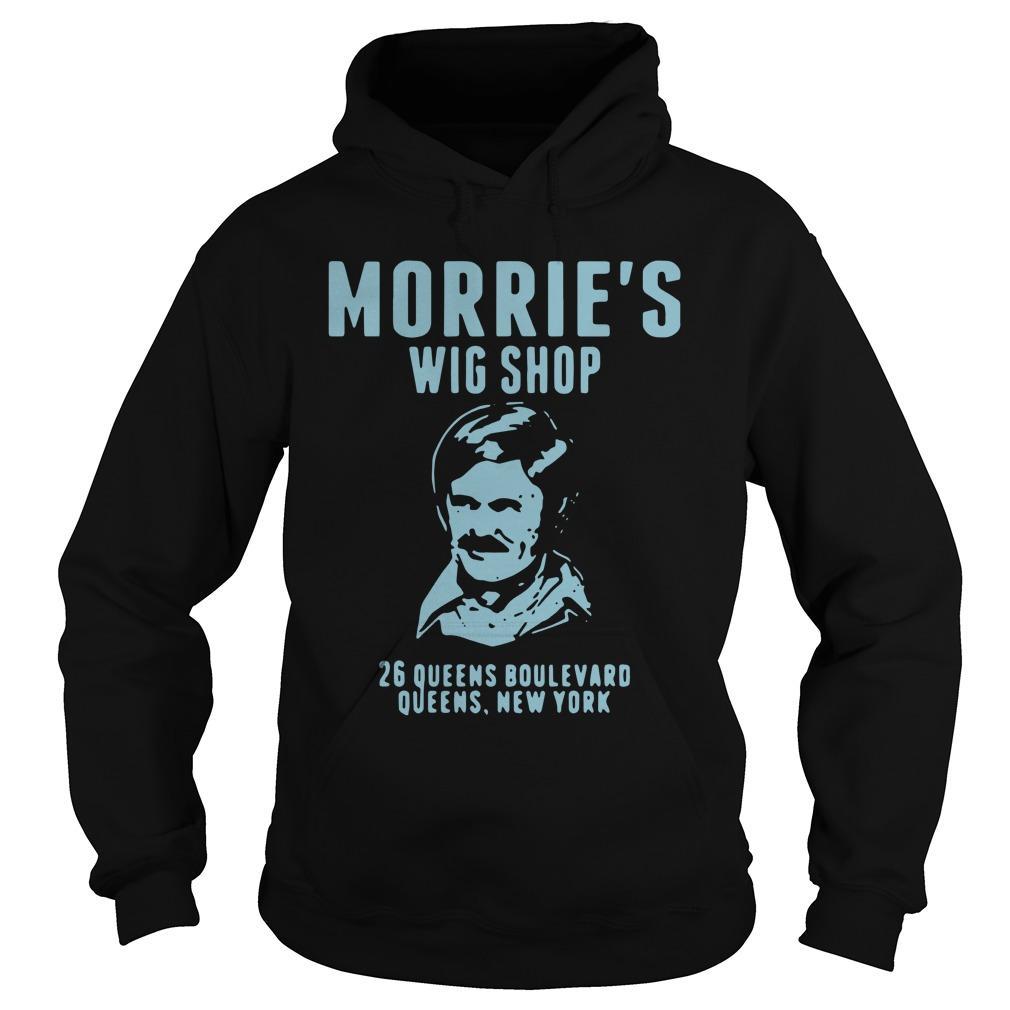Morrie's Wig Shop 26 Queens Boulevard Queens New York Hoodie