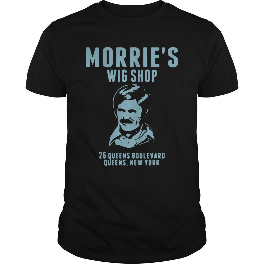Morrie's Wig Shop 26 Queens Boulevard Queens New York Longsleeve