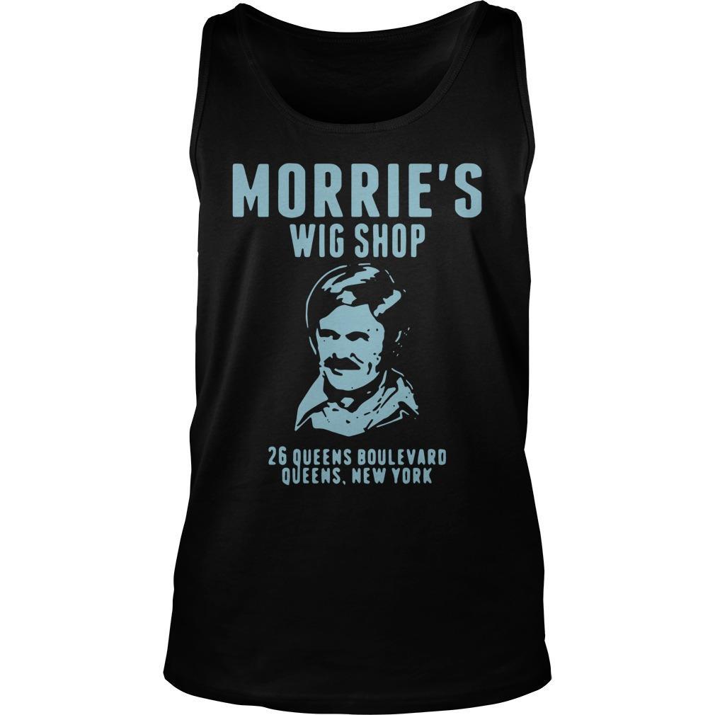 Morrie's Wig Shop 26 Queens Boulevard Queens New York Tank Top