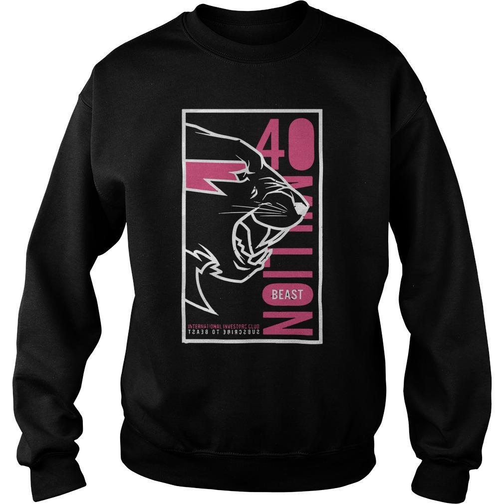 Mr Beast Signed Sweater