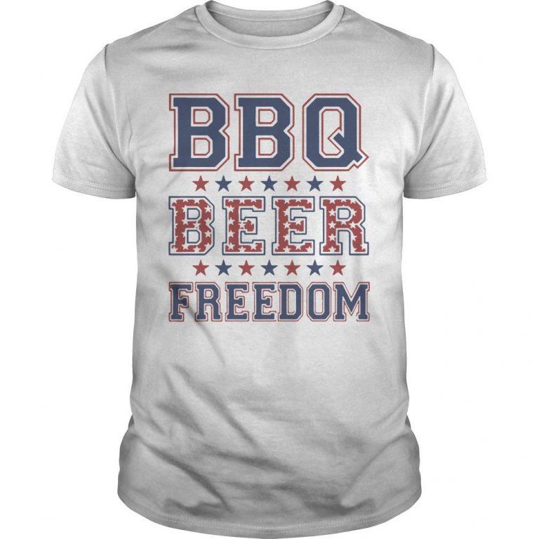 Nevada Bbq Beer Freedom Shirt