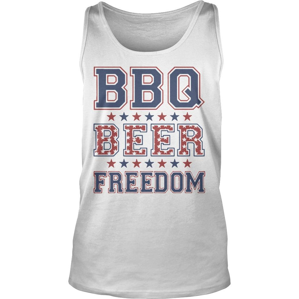 Nevada Bbq Beer Freedom Tank Top