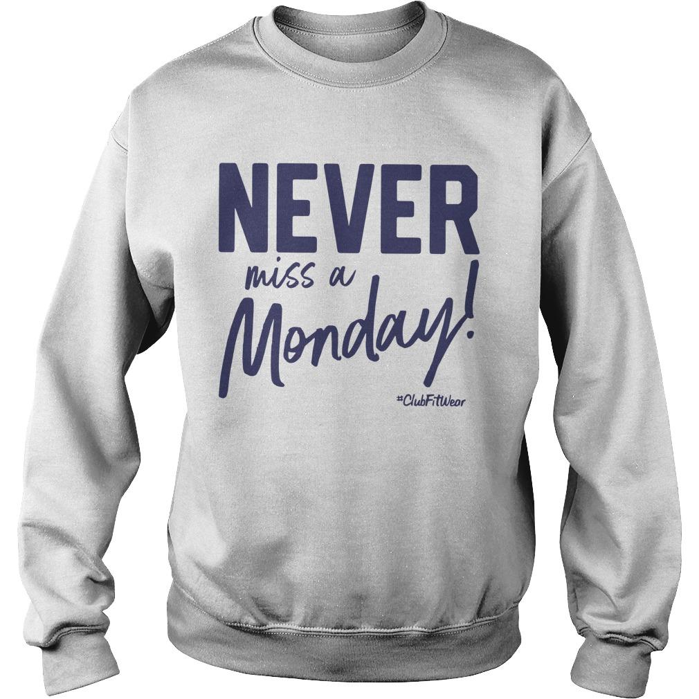 Never Miss A Monday Sweater