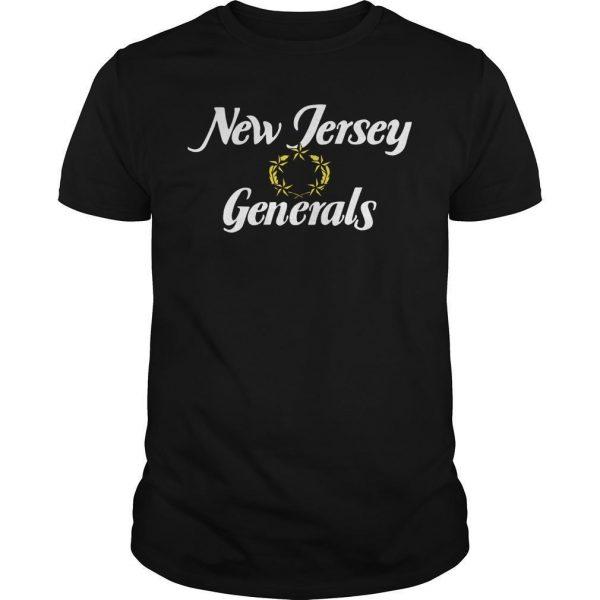 New Jersey Generals Shirt