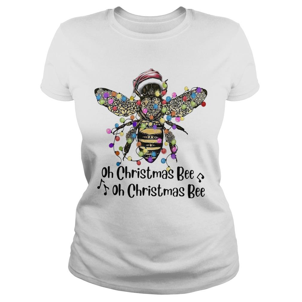 Oh Christmas Bee Oh Christmas Bee Longsleeve
