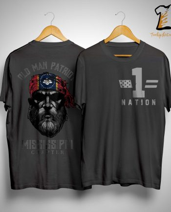 Old Man Patriot Mississippi Chapter Shirt