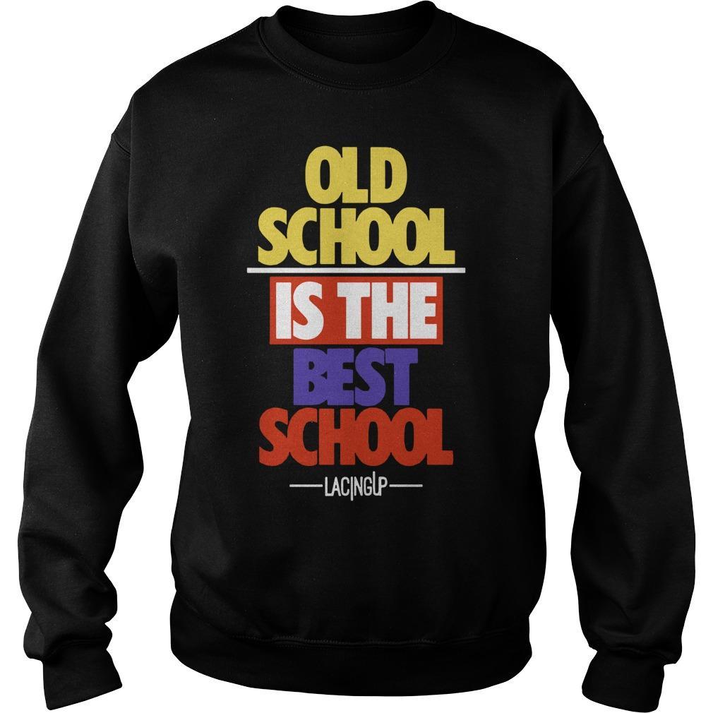 Old School Is The Best School Jordan 5 What The Sweater