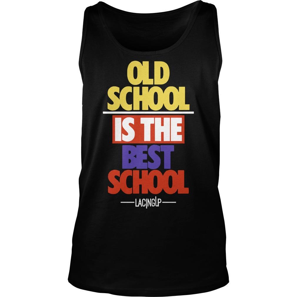 Old School Is The Best School Jordan 5 What The Tank Top