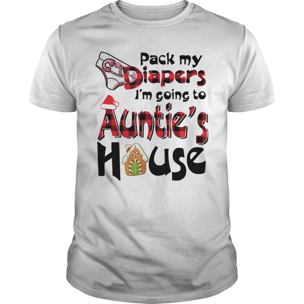 Pack My Diapers I'm Going To Auntie's House Longsleeve