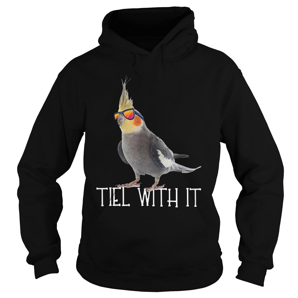 Parrot Tiel With It Hoodie