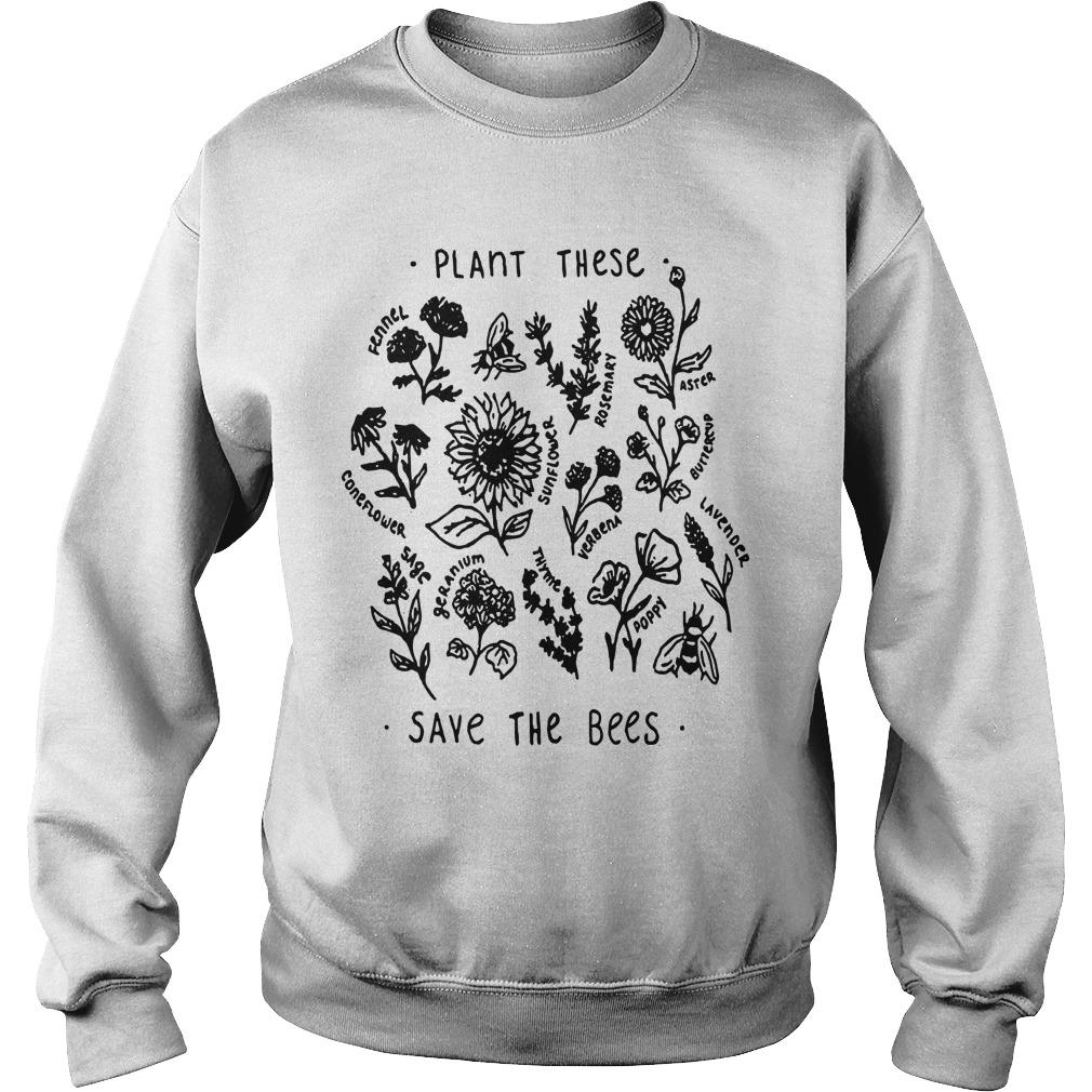 Plant These Save The Bees Sweater
