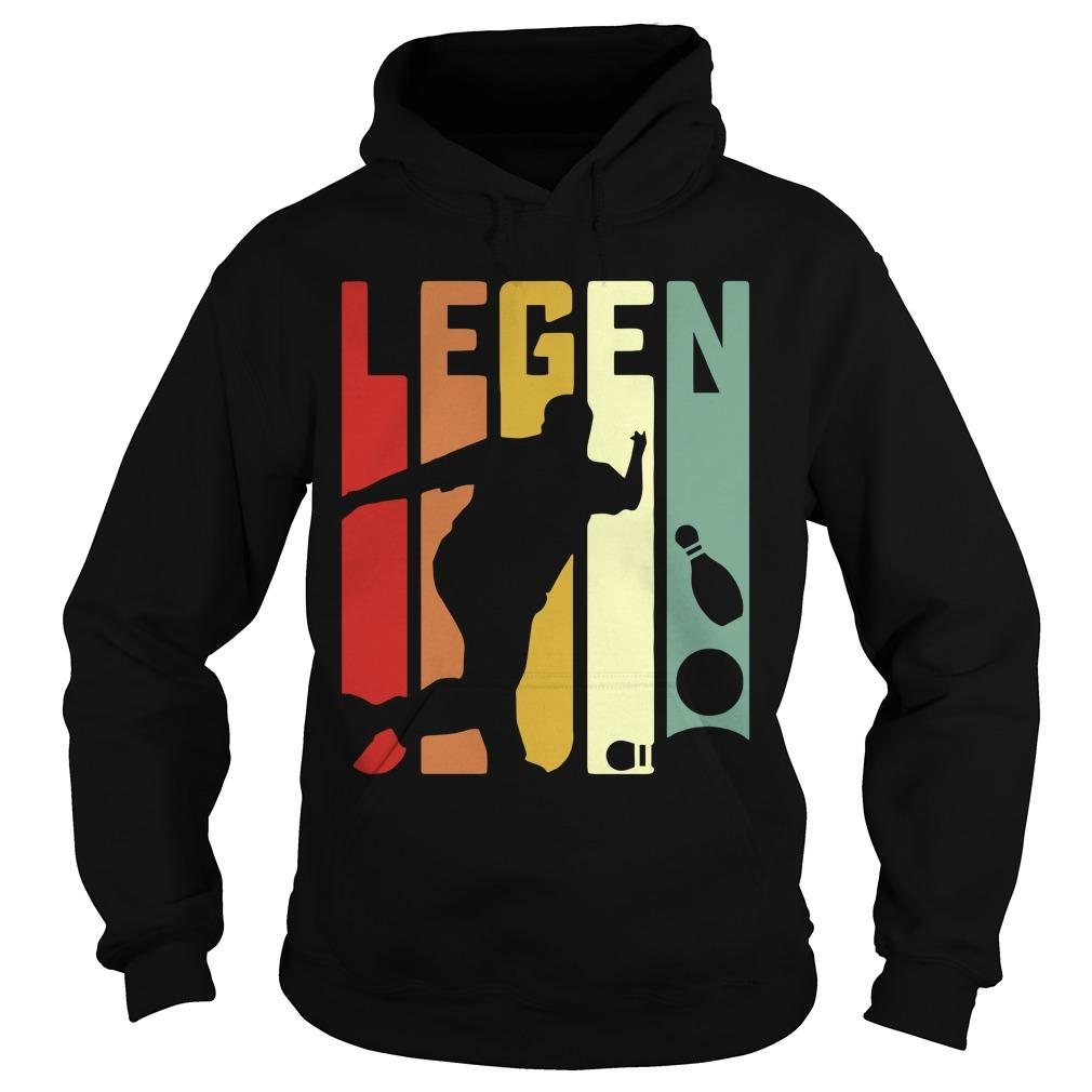 Playing Bowling Legend Hoodie