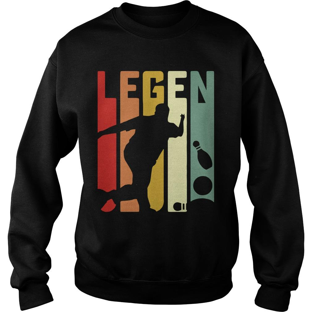 Playing Bowling Legend Sweater