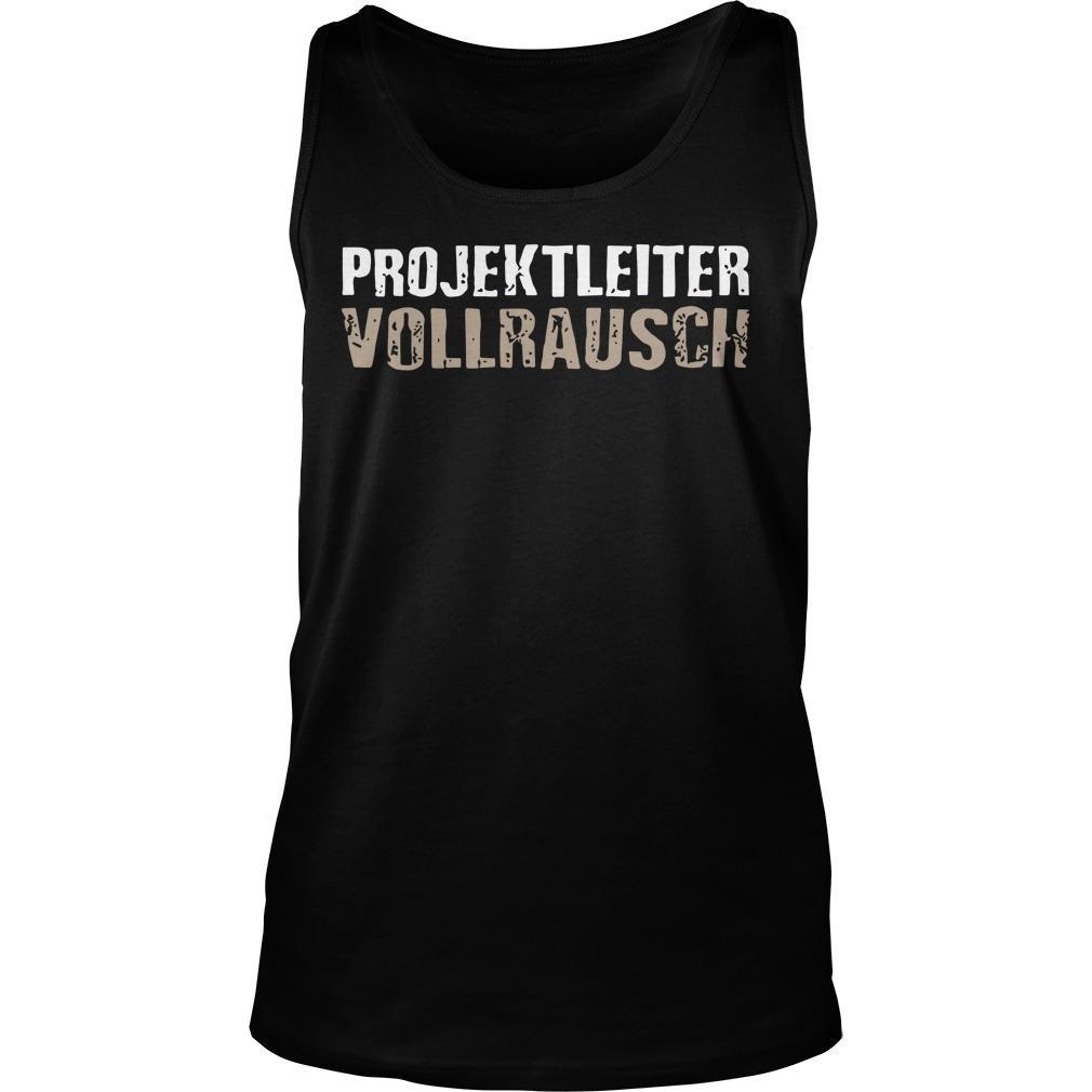 Projektleiter Vollrausch Tank Top