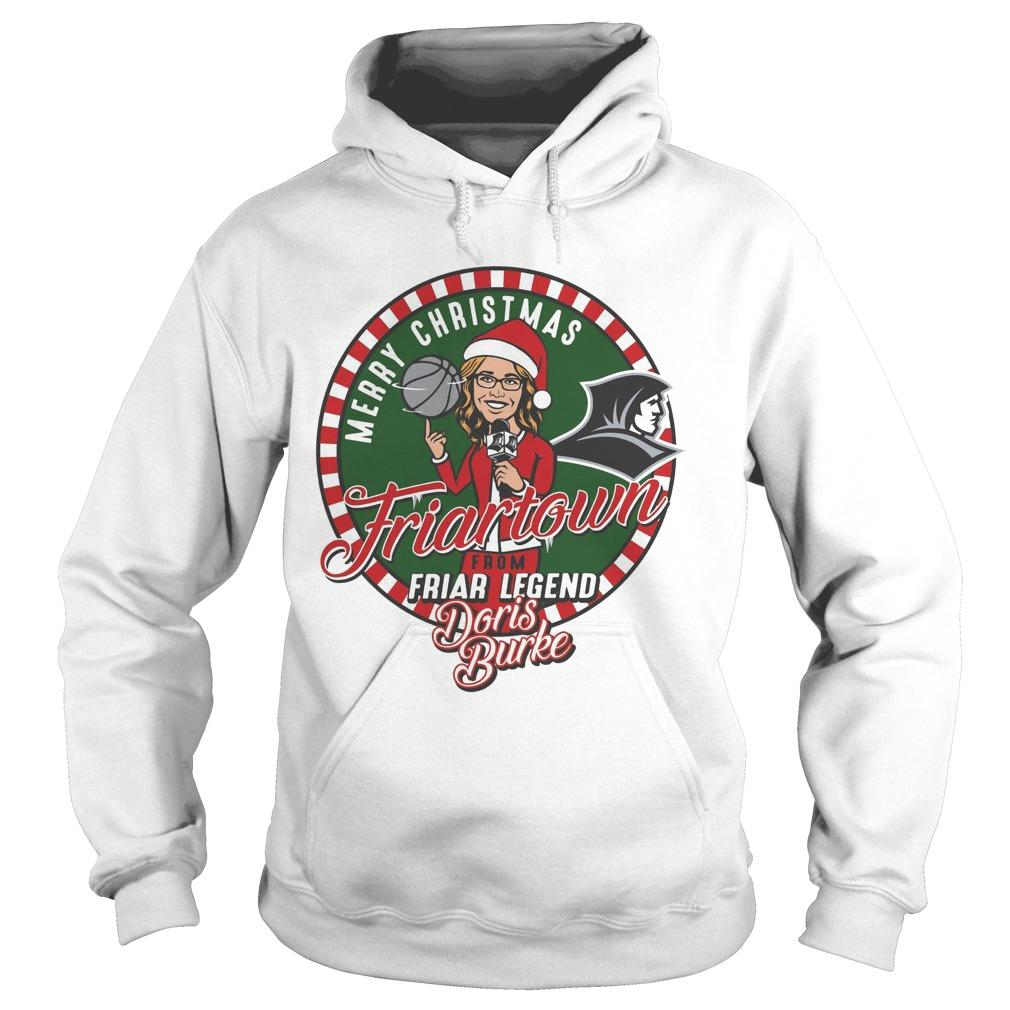 Providence Friars Merry Christmas Friartown Hoodie
