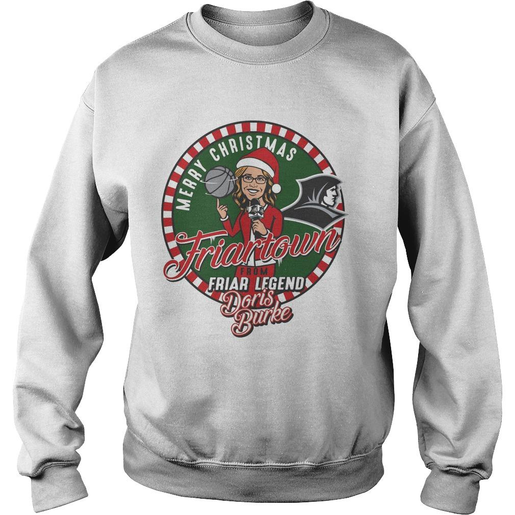 Providence Friars Merry Christmas Friartown Sweater
