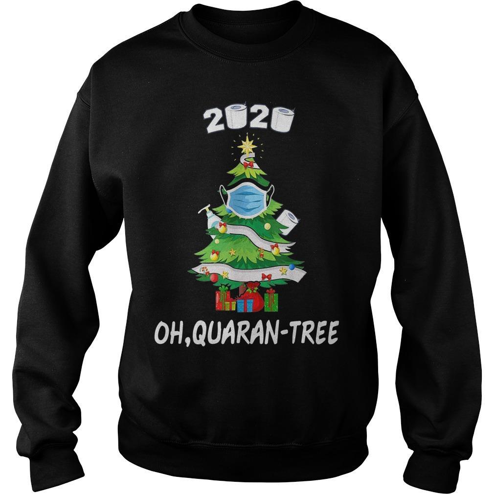 Quarantine 2020 Oh Quarantree Sweater