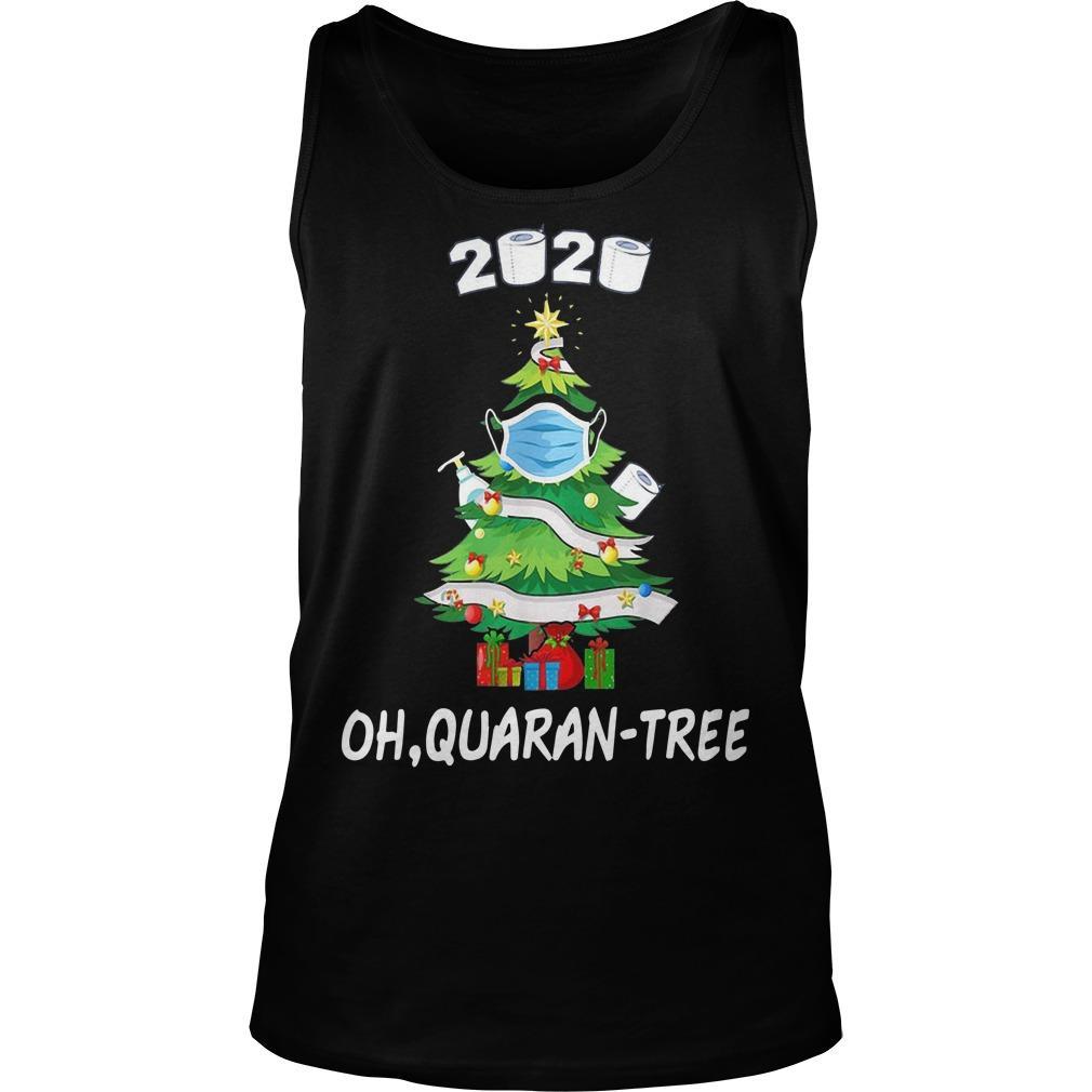 Quarantine 2020 Oh Quarantree Tank Top