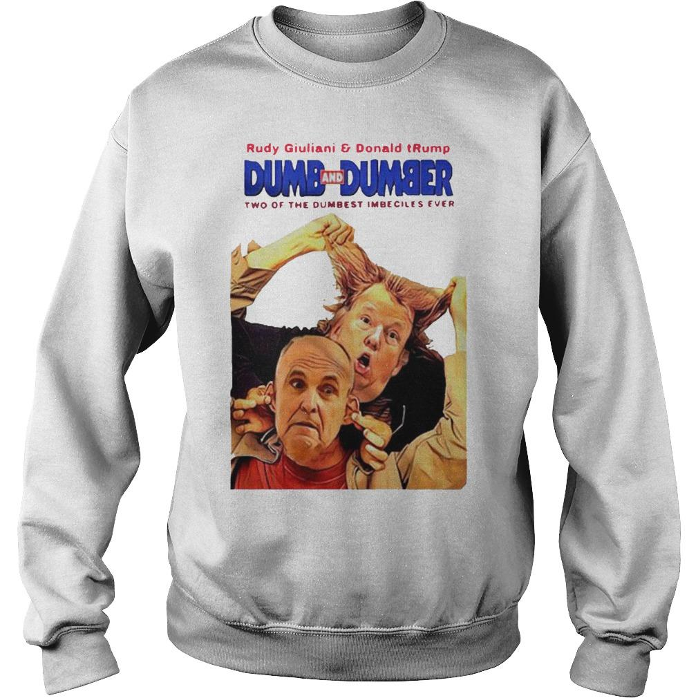 Rudy Giuliani And Donald Trump Dumb And Dumber Sweater