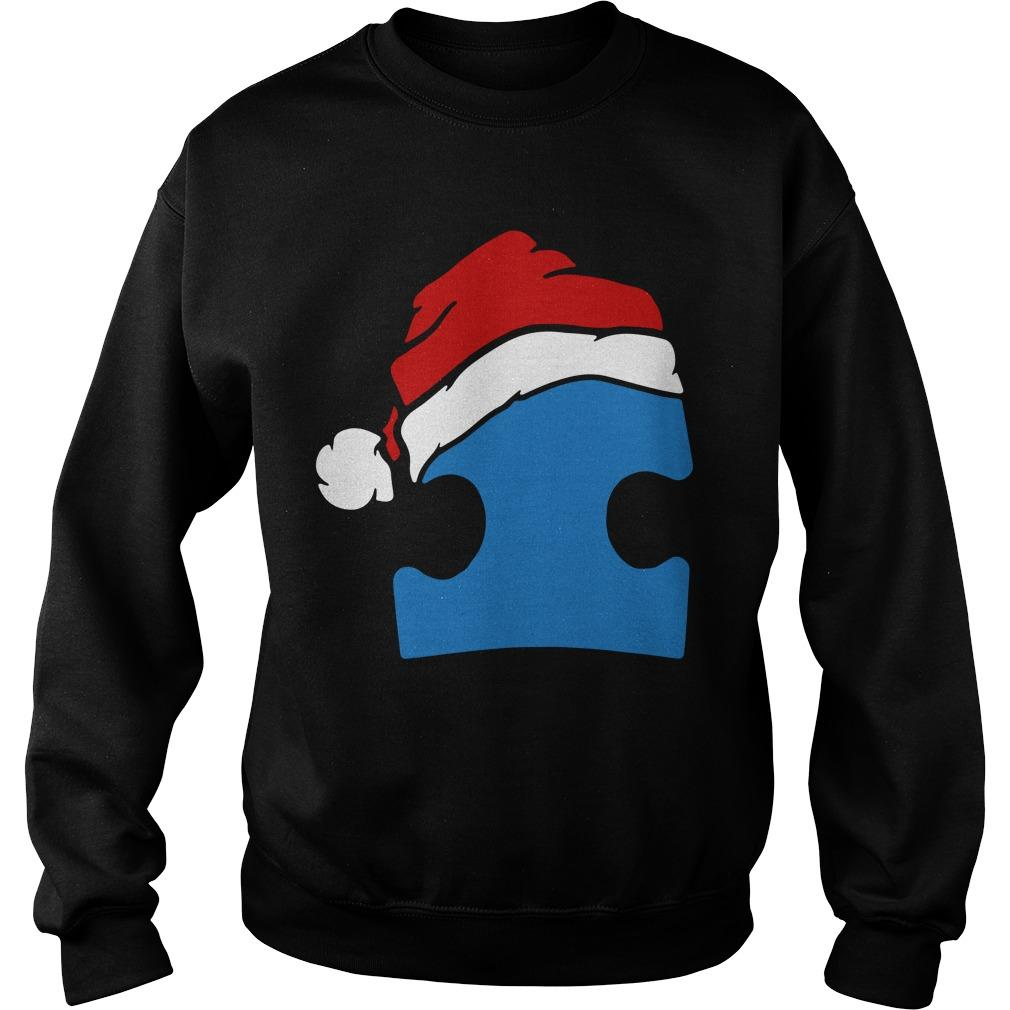 Santa Autism Christmas Sweater