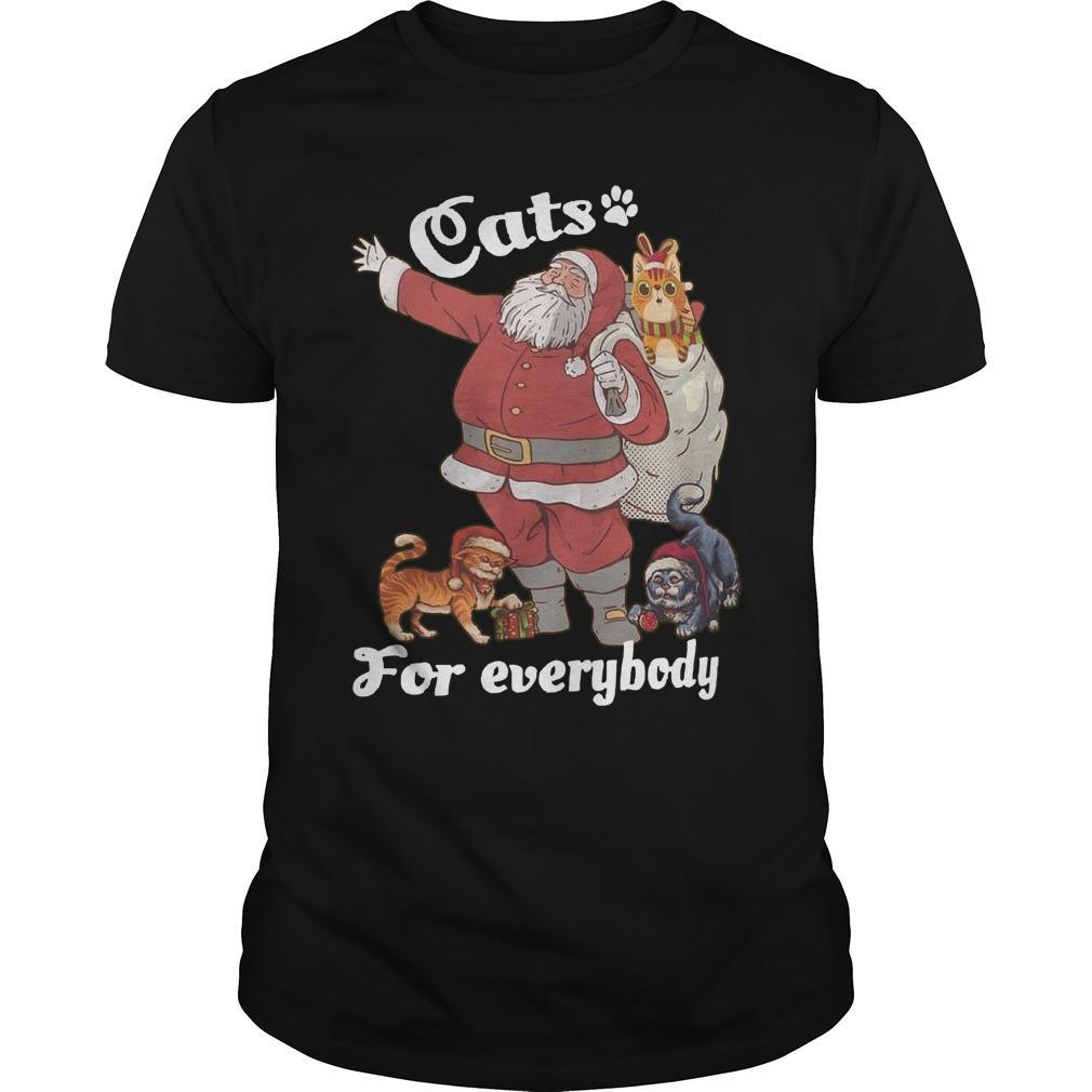 Santa Claus Cats Everyone Longsleeve
