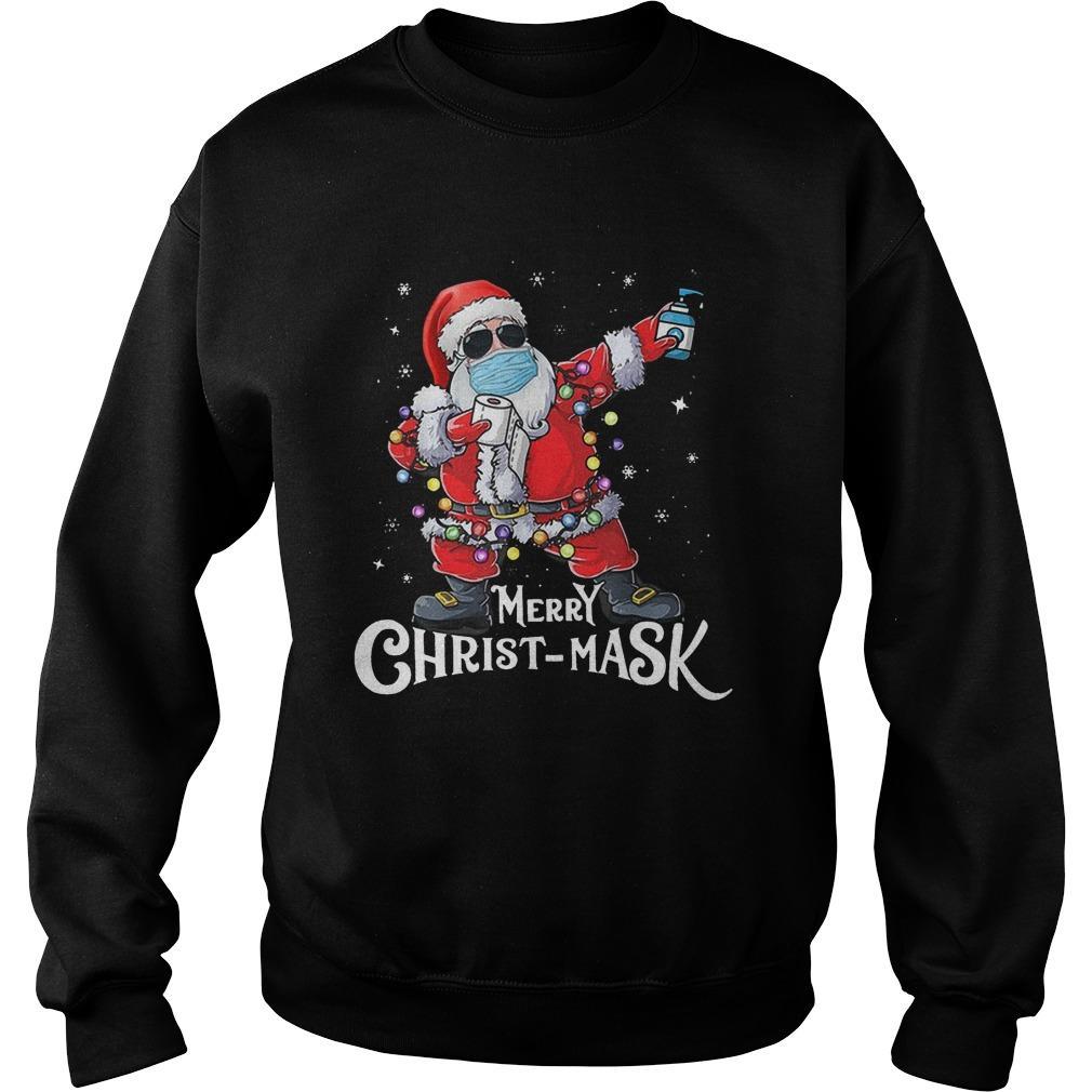 Santa Merry Christ Mask Sweater