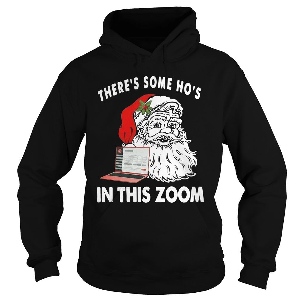 Santa There's Some Ho's In This Zoom Hoodie