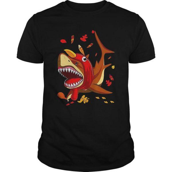 Shark Fall Thanksgiving Shirt