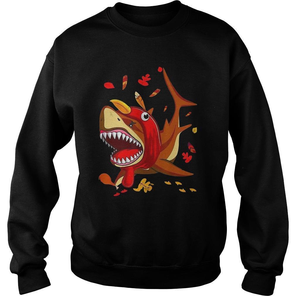 Shark Fall Thanksgiving Sweater