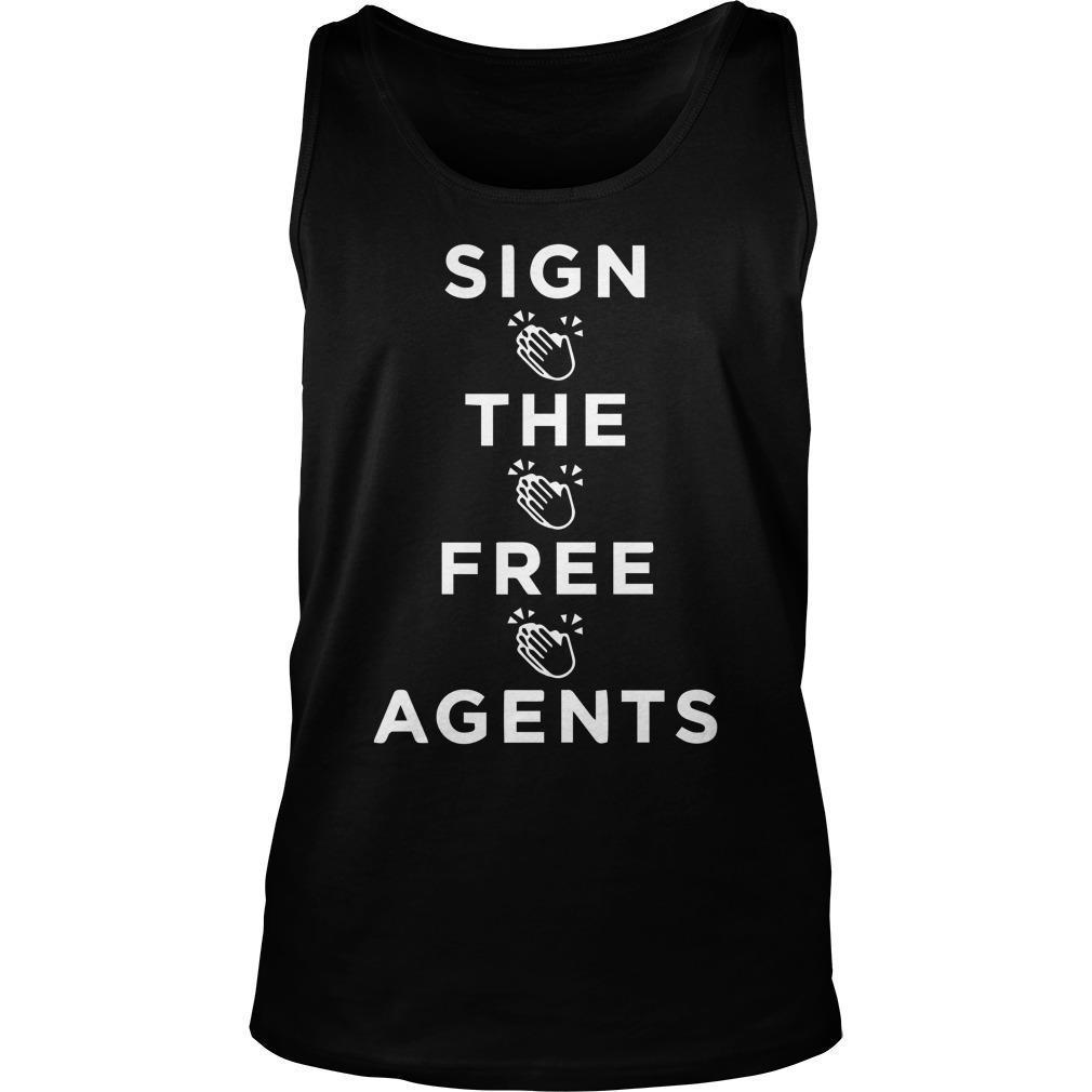Sign The Free Agents Tank Top