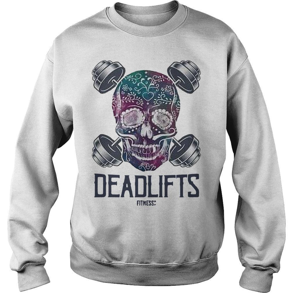 Skull Face Deadlifts Sweater