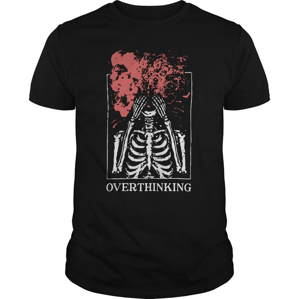 Skull Overthinking Longsleeve