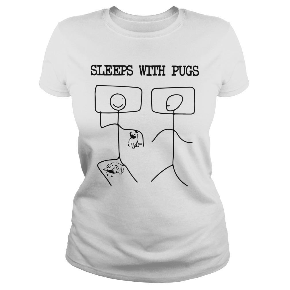 Sleeps With Pugs Longsleeve