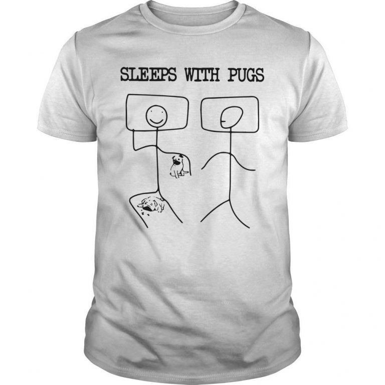 Sleeps With Pugs Shirt
