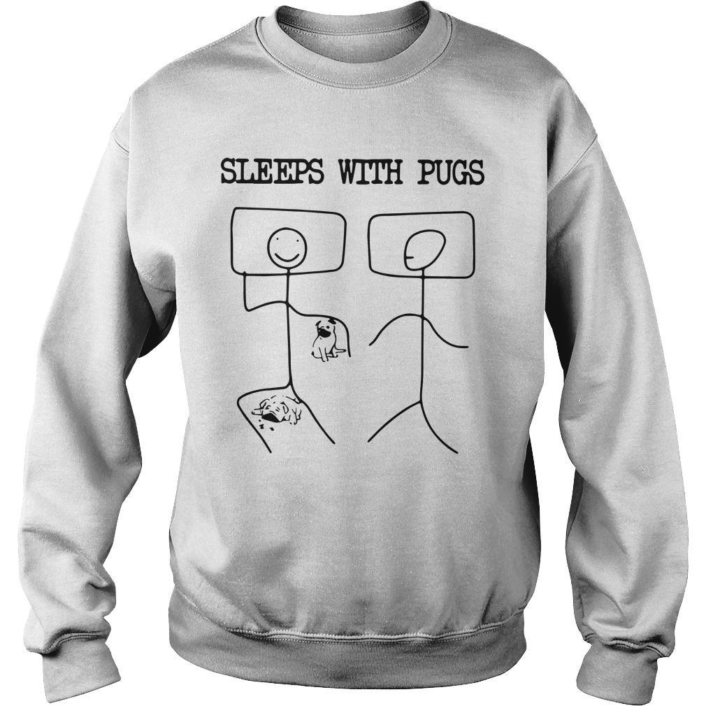 Sleeps With Pugs Sweater