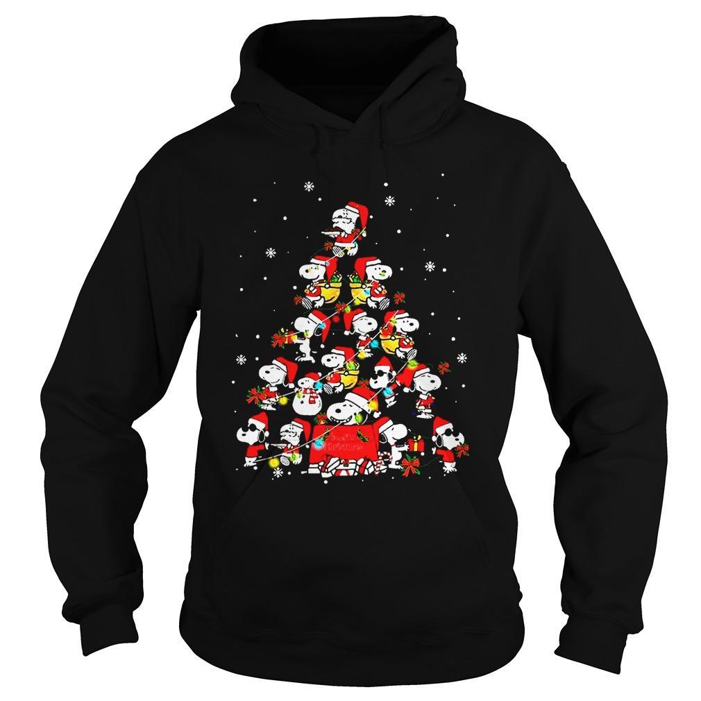 Snoopy Christmas Tree Hoodie