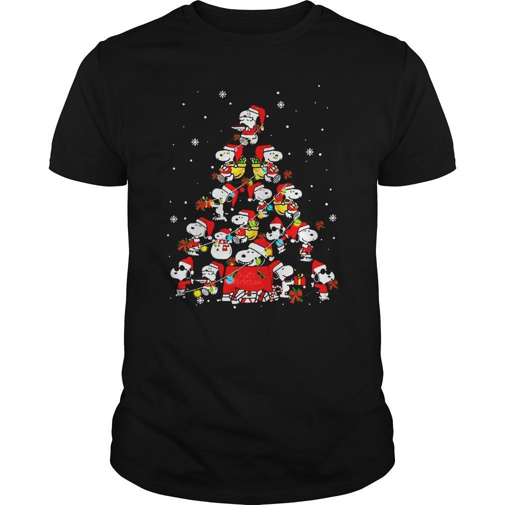 Snoopy Christmas Tree Longsleeve