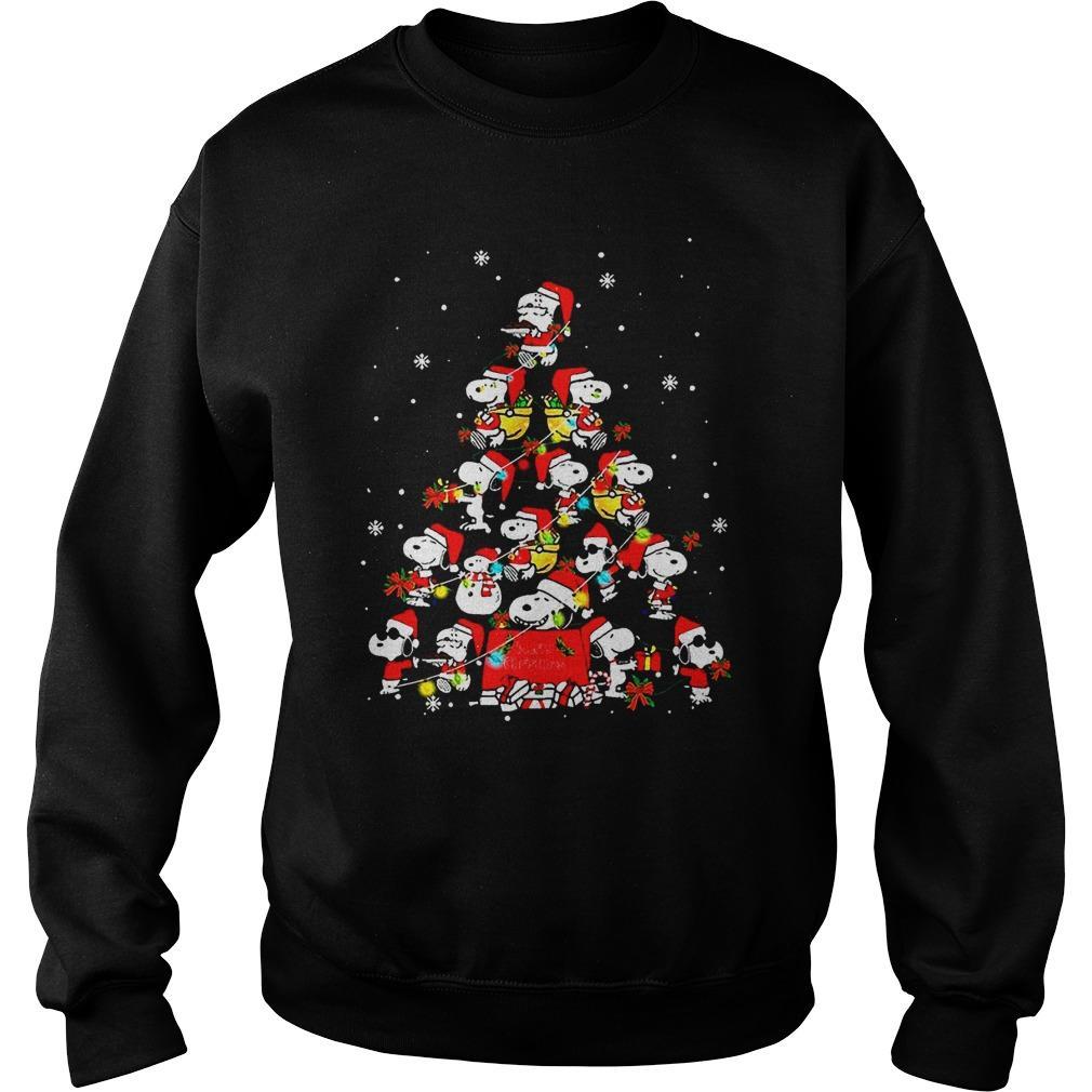 Snoopy Christmas Tree Sweater