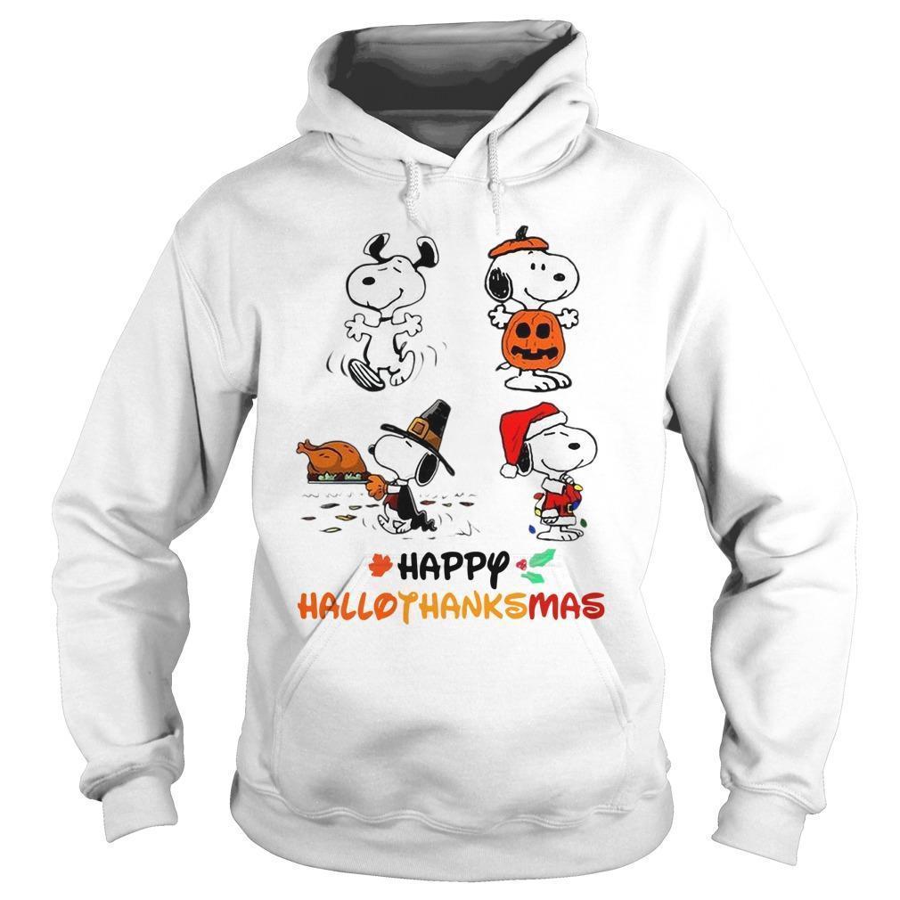 Snoopy Happy Hallothanksmas Hoodie