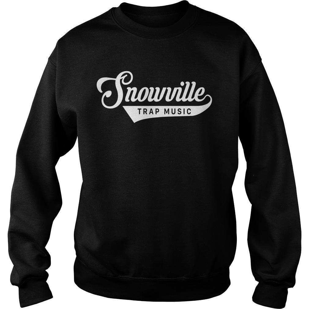 Snowville Trapmusic Jeezy Snowman Sweater