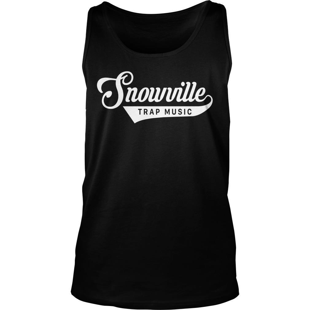 Snowville Trapmusic Jeezy Snowman Tank Top