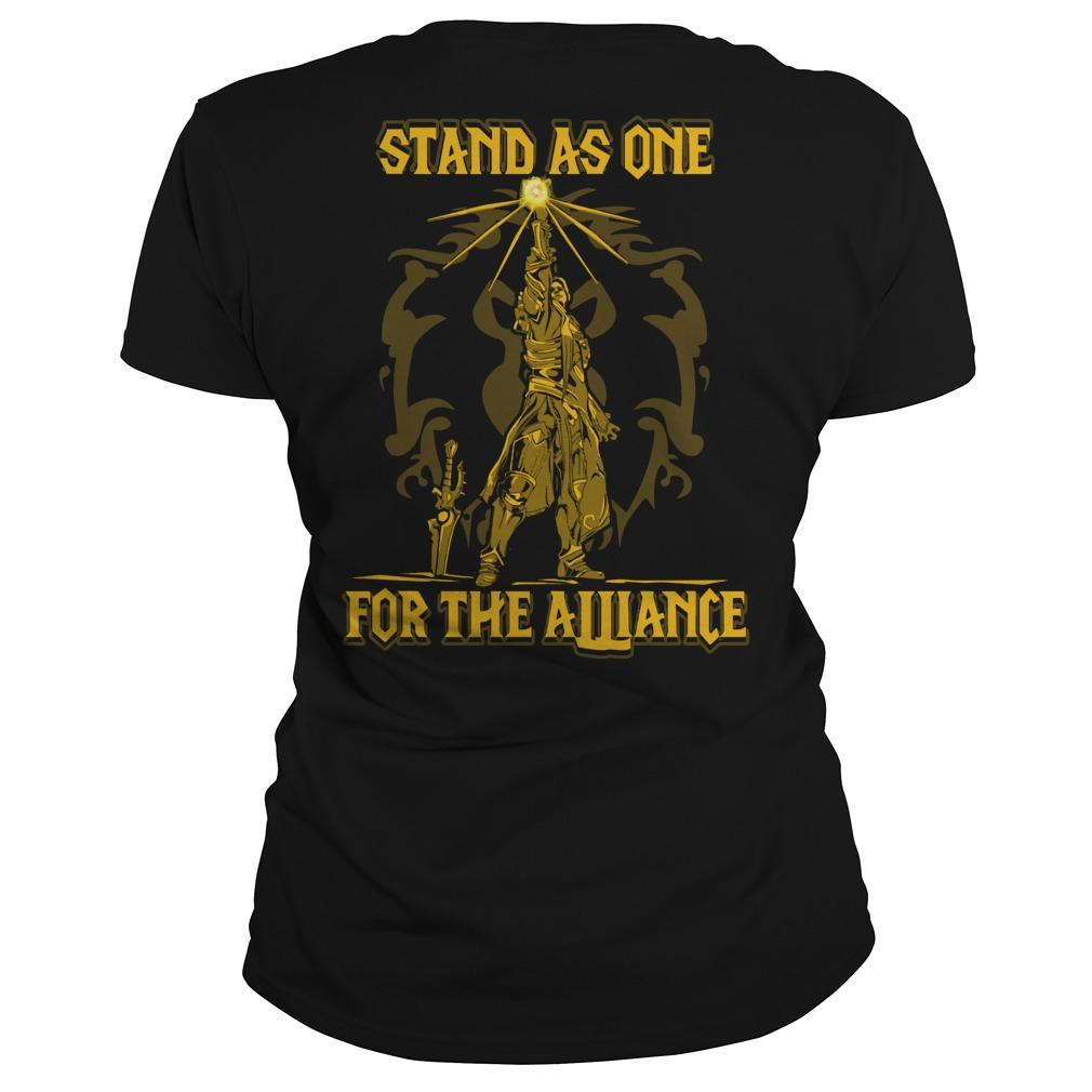 Stand As One For The Alliance Longsleeve