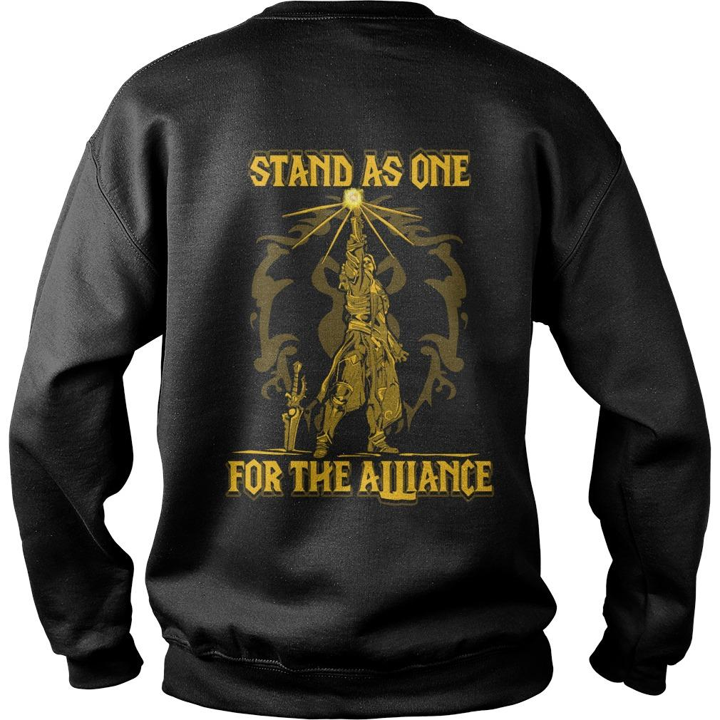 Stand As One For The Alliance Sweater