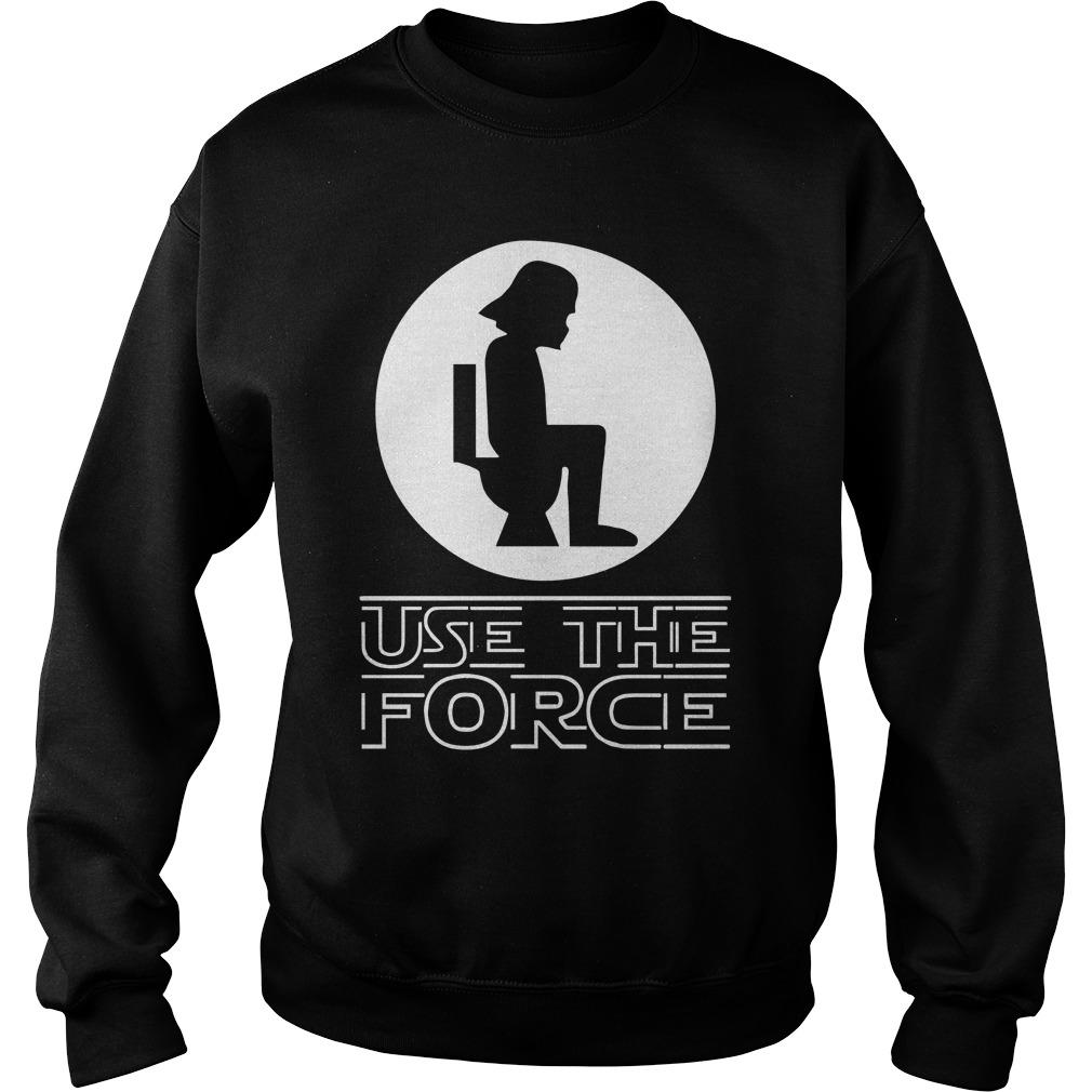 Star Wars Darth Vader Toilet Use The Force Sweater