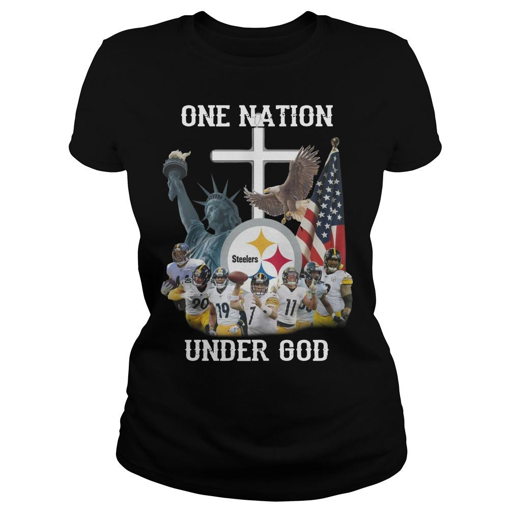 Steelers One Nation Under God Longsleeve