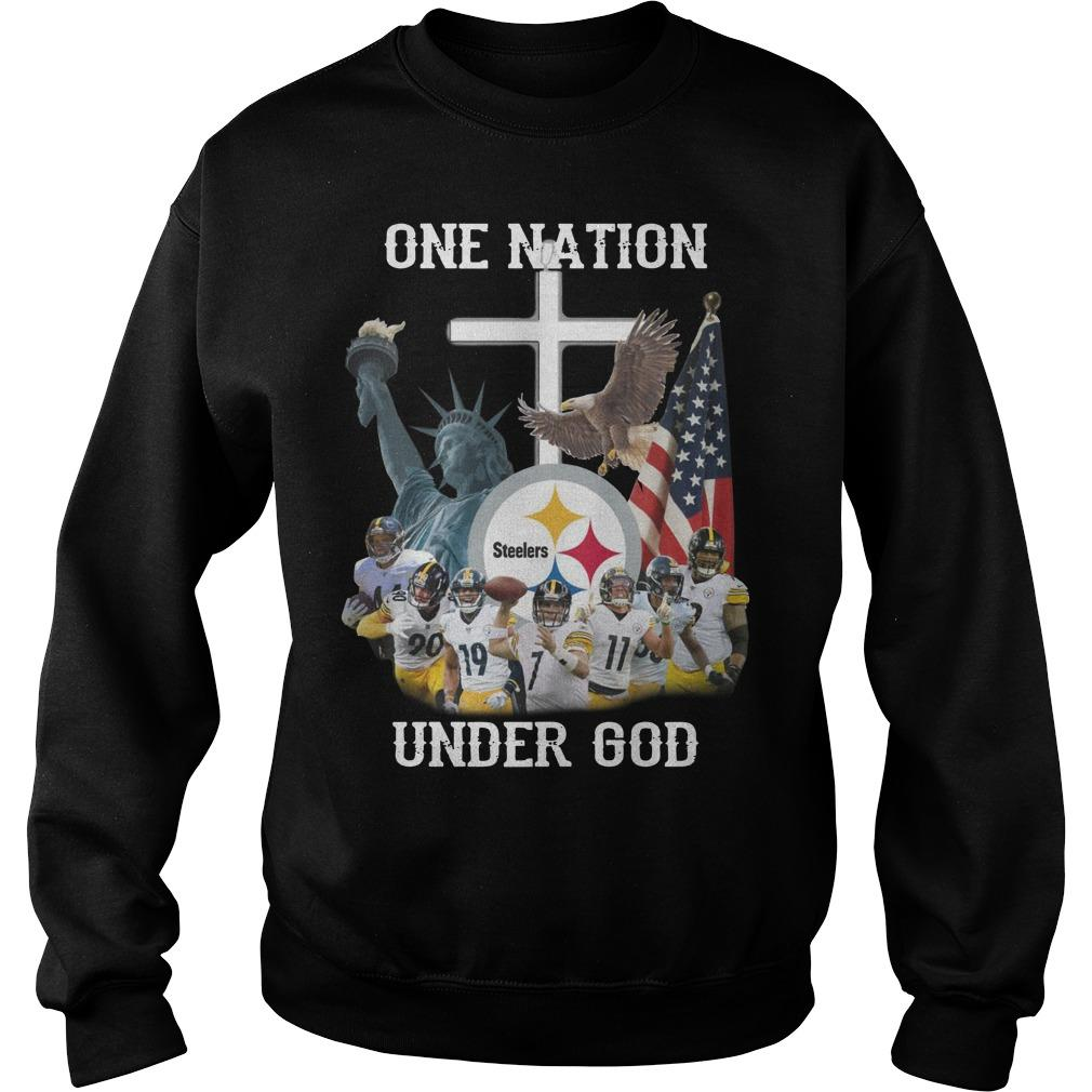 Steelers One Nation Under God Sweater