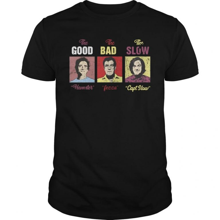 The Good Hamster The Bad Fezza The Slow Capt Slow Shirt