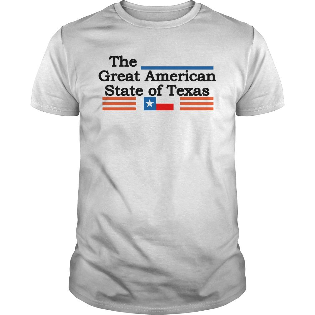 The Great American State Of Texas Longsleeve