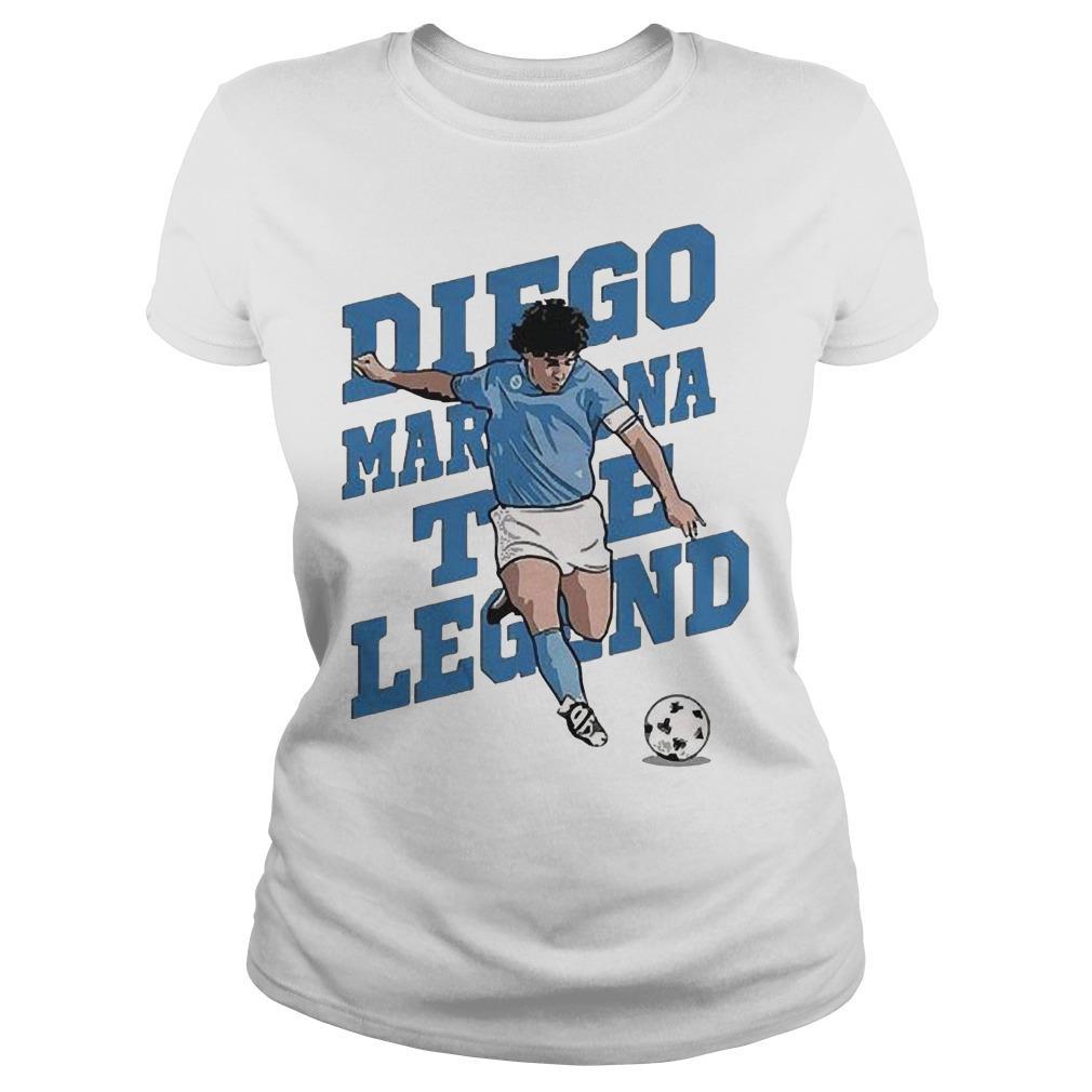 The Legend Diego Maradona Longsleeve
